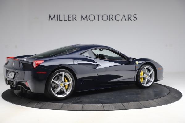 Used 2011 Ferrari 458 Italia for sale $179,900 at Rolls-Royce Motor Cars Greenwich in Greenwich CT 06830 8