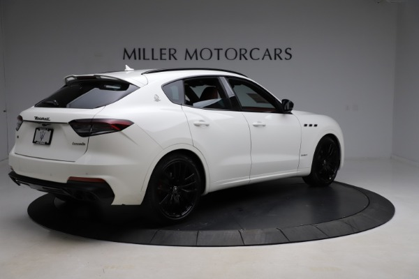New 2021 Maserati Levante Q4 GranSport for sale Sold at Rolls-Royce Motor Cars Greenwich in Greenwich CT 06830 8