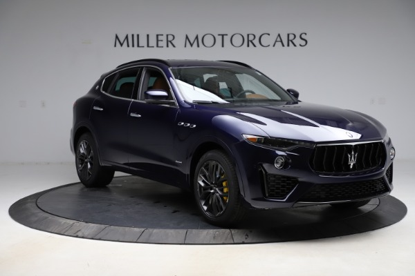 New 2021 Maserati Levante S Q4 GranSport for sale $100,185 at Rolls-Royce Motor Cars Greenwich in Greenwich CT 06830 11