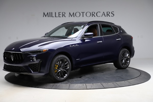 New 2021 Maserati Levante S Q4 GranSport for sale $100,185 at Rolls-Royce Motor Cars Greenwich in Greenwich CT 06830 2