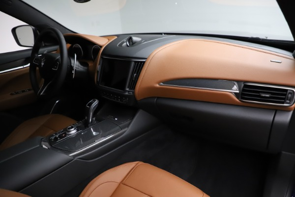 New 2021 Maserati Levante S Q4 GranSport for sale $100,185 at Rolls-Royce Motor Cars Greenwich in Greenwich CT 06830 22