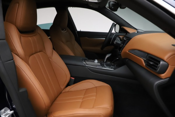 New 2021 Maserati Levante S Q4 GranSport for sale $100,185 at Rolls-Royce Motor Cars Greenwich in Greenwich CT 06830 23