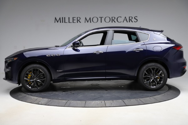 New 2021 Maserati Levante S Q4 GranSport for sale $100,185 at Rolls-Royce Motor Cars Greenwich in Greenwich CT 06830 3
