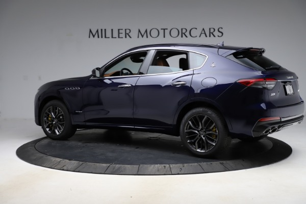 New 2021 Maserati Levante S Q4 GranSport for sale $100,185 at Rolls-Royce Motor Cars Greenwich in Greenwich CT 06830 4