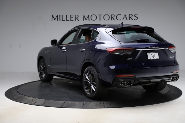 New 2021 Maserati Levante S Q4 GranSport for sale $100,185 at Rolls-Royce Motor Cars Greenwich in Greenwich CT 06830 5