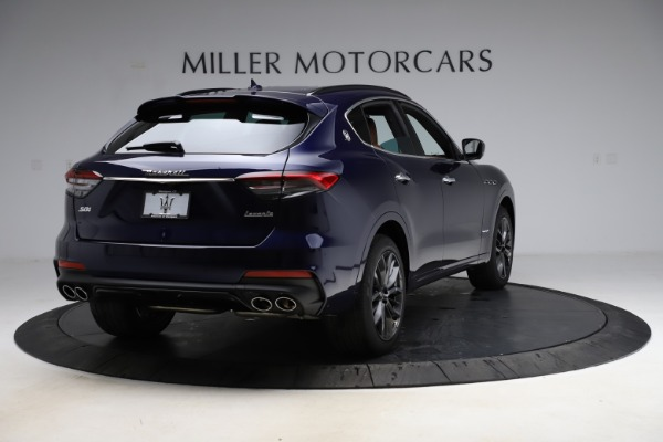 New 2021 Maserati Levante S Q4 GranSport for sale $100,185 at Rolls-Royce Motor Cars Greenwich in Greenwich CT 06830 7