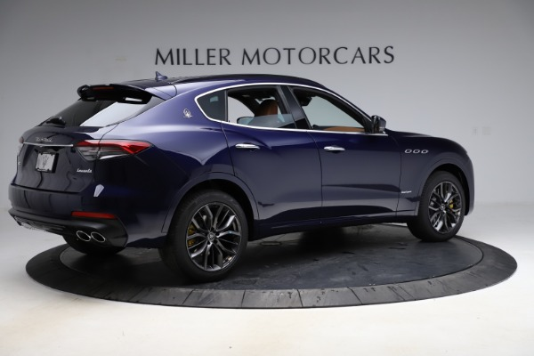 New 2021 Maserati Levante S Q4 GranSport for sale $100,185 at Rolls-Royce Motor Cars Greenwich in Greenwich CT 06830 8