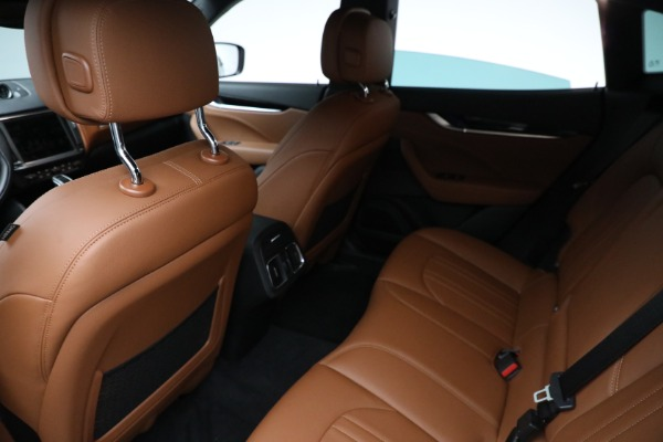 New 2021 Maserati Levante Q4 for sale Call for price at Rolls-Royce Motor Cars Greenwich in Greenwich CT 06830 15