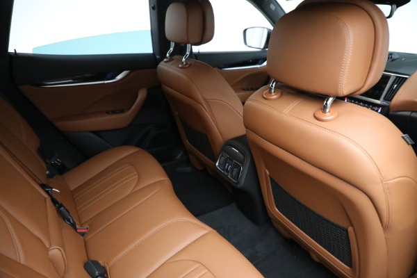New 2021 Maserati Levante Q4 for sale Call for price at Rolls-Royce Motor Cars Greenwich in Greenwich CT 06830 18