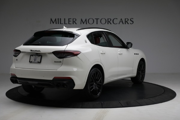 New 2021 Maserati Levante Q4 for sale $89,175 at Rolls-Royce Motor Cars Greenwich in Greenwich CT 06830 7