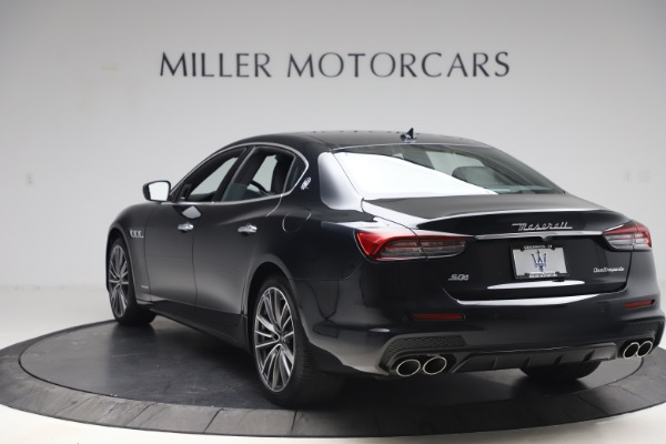 New 2021 Maserati Quattroporte S Q4 GranSport for sale $129,185 at Rolls-Royce Motor Cars Greenwich in Greenwich CT 06830 5