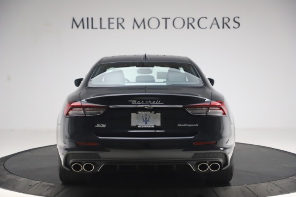 New 2021 Maserati Quattroporte S Q4 GranSport for sale $129,185 at Rolls-Royce Motor Cars Greenwich in Greenwich CT 06830 6