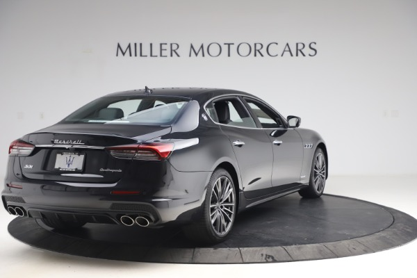 New 2021 Maserati Quattroporte S Q4 GranSport for sale $129,185 at Rolls-Royce Motor Cars Greenwich in Greenwich CT 06830 7