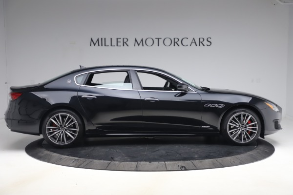 New 2021 Maserati Quattroporte S Q4 GranSport for sale $129,185 at Rolls-Royce Motor Cars Greenwich in Greenwich CT 06830 9