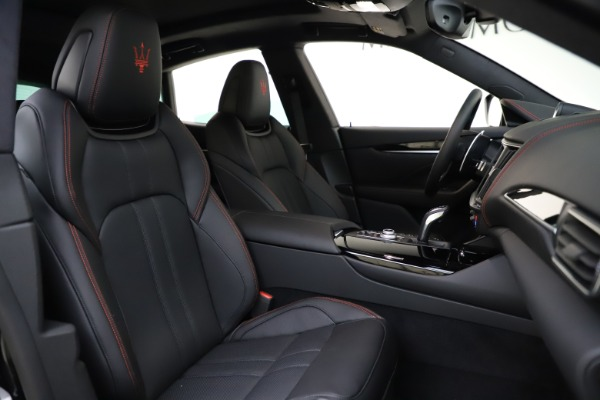 New 2021 Maserati Levante Q4 GranSport for sale $92,485 at Rolls-Royce Motor Cars Greenwich in Greenwich CT 06830 21