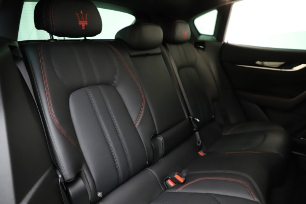 New 2021 Maserati Levante Q4 GranSport for sale $92,485 at Rolls-Royce Motor Cars Greenwich in Greenwich CT 06830 24