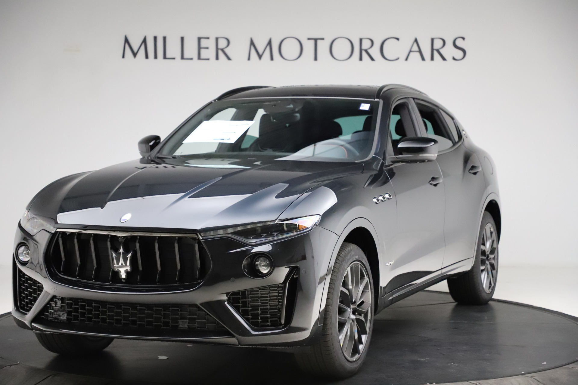 New 2021 Maserati Levante Q4 GranSport for sale Call for price at Rolls-Royce Motor Cars Greenwich in Greenwich CT 06830 1