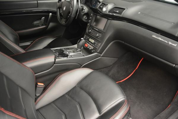 Used 2013 Maserati GranTurismo Sport for sale Sold at Rolls-Royce Motor Cars Greenwich in Greenwich CT 06830 17