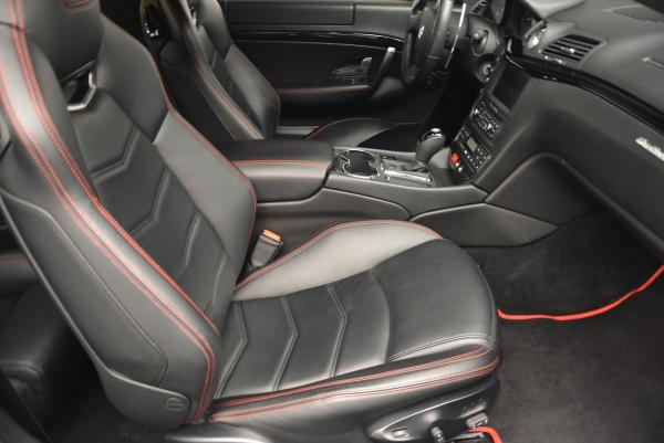 Used 2013 Maserati GranTurismo Sport for sale Sold at Rolls-Royce Motor Cars Greenwich in Greenwich CT 06830 18