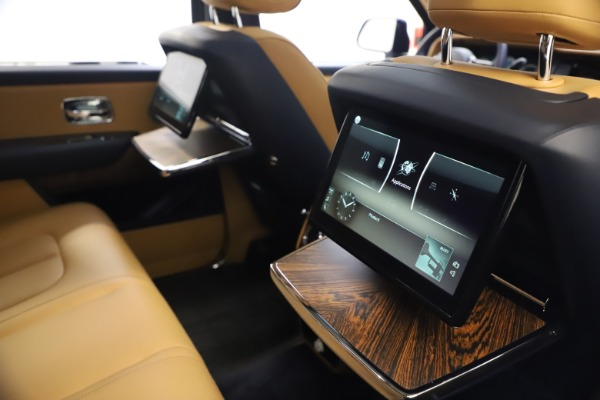 Used 2019 Rolls-Royce Cullinan for sale Sold at Rolls-Royce Motor Cars Greenwich in Greenwich CT 06830 21