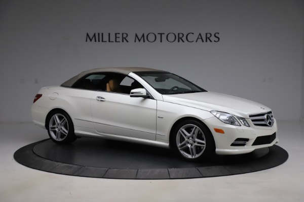 Used 2012 Mercedes-Benz E-Class E 550 for sale $29,990 at Rolls-Royce Motor Cars Greenwich in Greenwich CT 06830 18