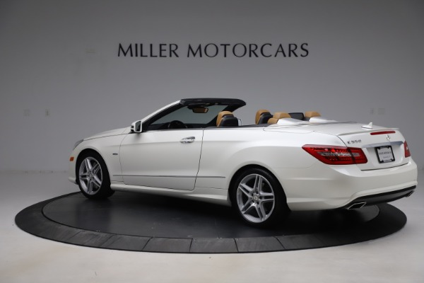 Used 2012 Mercedes-Benz E-Class E 550 for sale $29,990 at Rolls-Royce Motor Cars Greenwich in Greenwich CT 06830 3