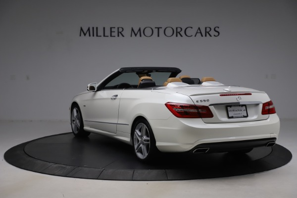 Used 2012 Mercedes-Benz E-Class E 550 for sale $29,990 at Rolls-Royce Motor Cars Greenwich in Greenwich CT 06830 4