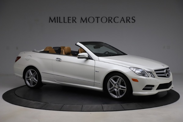 Used 2012 Mercedes-Benz E-Class E 550 for sale $29,990 at Rolls-Royce Motor Cars Greenwich in Greenwich CT 06830 8