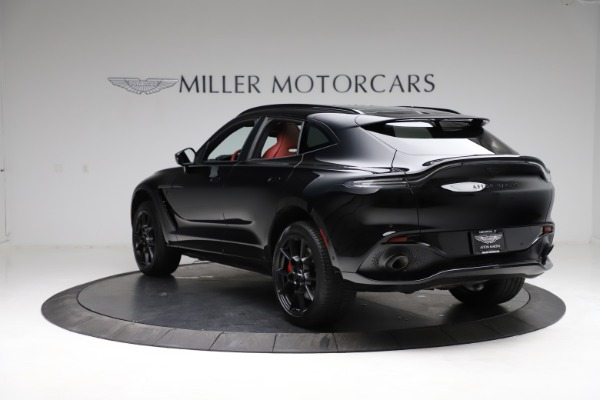 New 2021 Aston Martin DBX SUV for sale $200,986 at Rolls-Royce Motor Cars Greenwich in Greenwich CT 06830 4