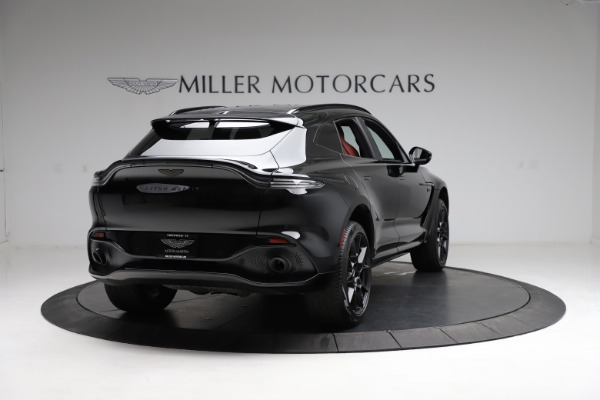 New 2021 Aston Martin DBX SUV for sale $200,986 at Rolls-Royce Motor Cars Greenwich in Greenwich CT 06830 6