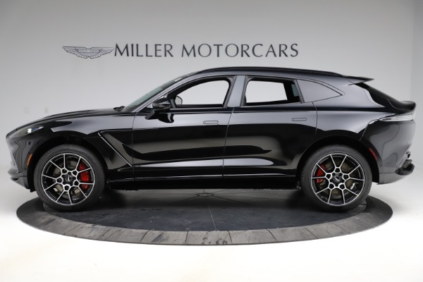New 2021 Aston Martin DBX for sale $212,686 at Rolls-Royce Motor Cars Greenwich in Greenwich CT 06830 2