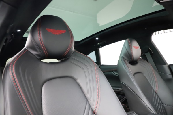 New 2021 Aston Martin DBX for sale $212,686 at Rolls-Royce Motor Cars Greenwich in Greenwich CT 06830 22