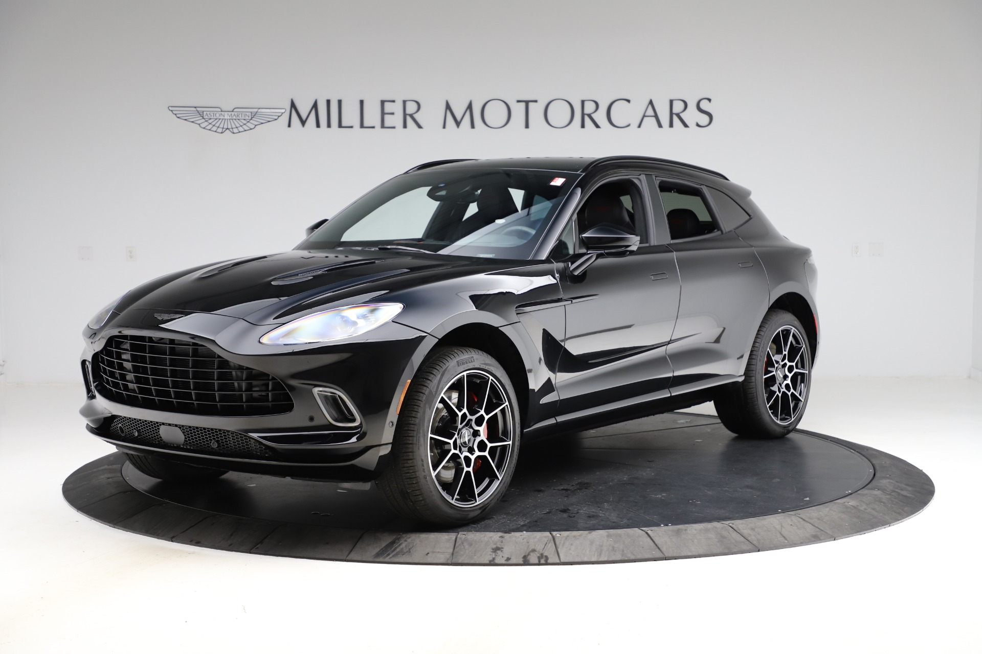 New 2021 Aston Martin DBX for sale $212,686 at Rolls-Royce Motor Cars Greenwich in Greenwich CT 06830 1