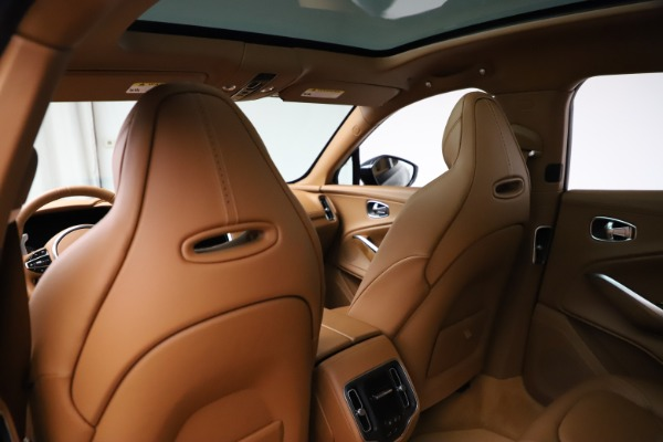 New 2021 Aston Martin DBX SUV for sale $221,386 at Rolls-Royce Motor Cars Greenwich in Greenwich CT 06830 16