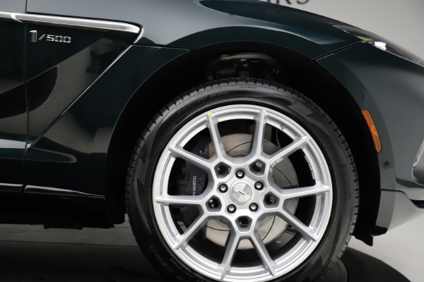 New 2021 Aston Martin DBX SUV for sale $221,386 at Rolls-Royce Motor Cars Greenwich in Greenwich CT 06830 22
