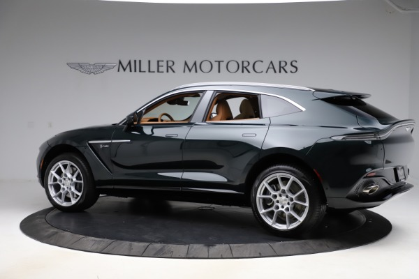 New 2021 Aston Martin DBX SUV for sale $221,386 at Rolls-Royce Motor Cars Greenwich in Greenwich CT 06830 3