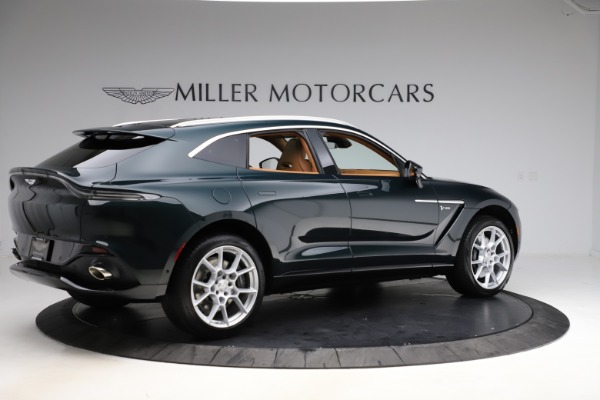 New 2021 Aston Martin DBX SUV for sale $221,386 at Rolls-Royce Motor Cars Greenwich in Greenwich CT 06830 7