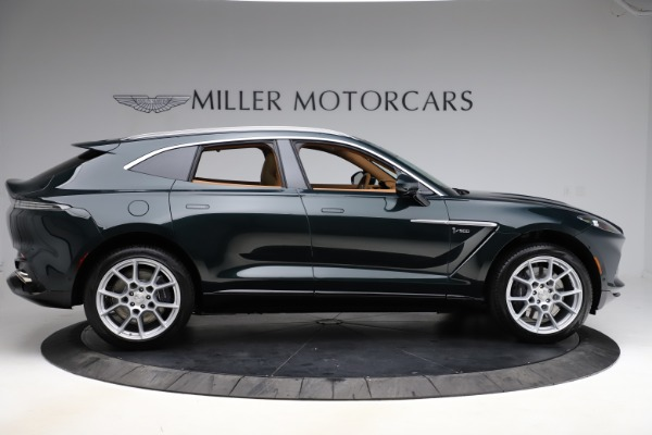 New 2021 Aston Martin DBX SUV for sale $221,386 at Rolls-Royce Motor Cars Greenwich in Greenwich CT 06830 8