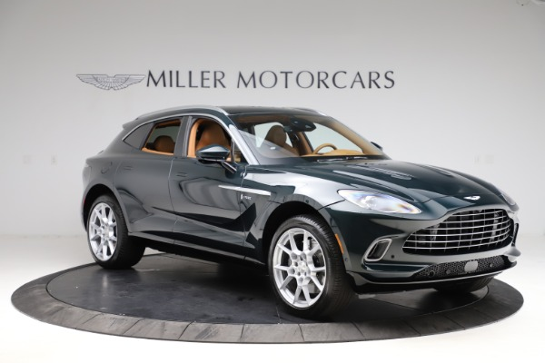 New 2021 Aston Martin DBX SUV for sale $221,386 at Rolls-Royce Motor Cars Greenwich in Greenwich CT 06830 9