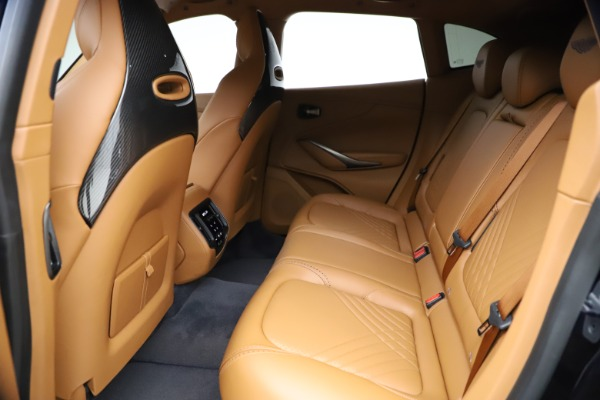 New 2021 Aston Martin DBX for sale $264,386 at Rolls-Royce Motor Cars Greenwich in Greenwich CT 06830 17