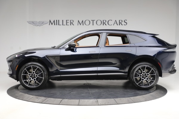 New 2021 Aston Martin DBX SUV for sale $264,386 at Rolls-Royce Motor Cars Greenwich in Greenwich CT 06830 2