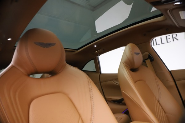 New 2021 Aston Martin DBX for sale $264,386 at Rolls-Royce Motor Cars Greenwich in Greenwich CT 06830 21