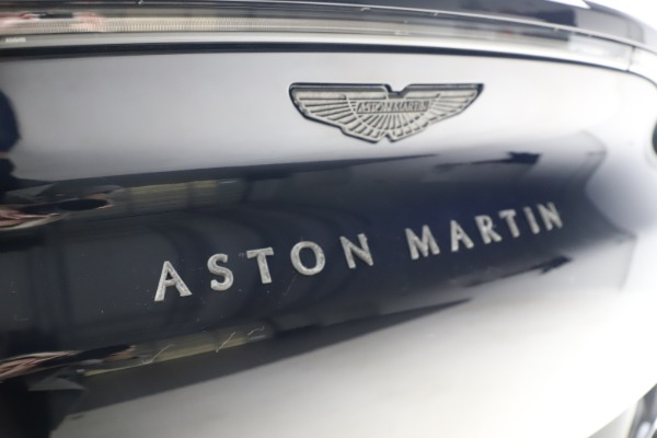 New 2021 Aston Martin DBX SUV for sale $264,386 at Rolls-Royce Motor Cars Greenwich in Greenwich CT 06830 25