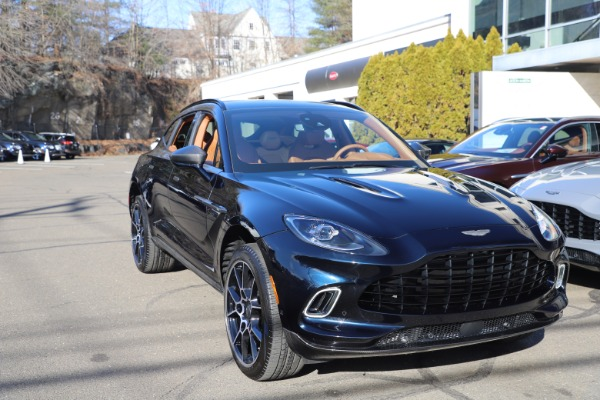 New 2021 Aston Martin DBX SUV for sale $264,386 at Rolls-Royce Motor Cars Greenwich in Greenwich CT 06830 28