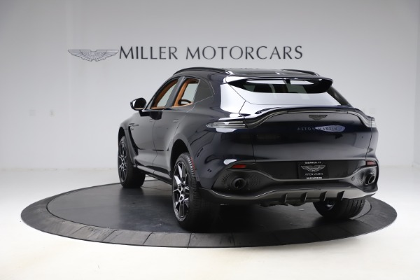 New 2021 Aston Martin DBX SUV for sale $264,386 at Rolls-Royce Motor Cars Greenwich in Greenwich CT 06830 4