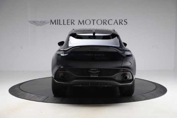New 2021 Aston Martin DBX SUV for sale $264,386 at Rolls-Royce Motor Cars Greenwich in Greenwich CT 06830 5