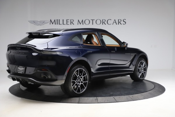 New 2021 Aston Martin DBX SUV for sale $264,386 at Rolls-Royce Motor Cars Greenwich in Greenwich CT 06830 7