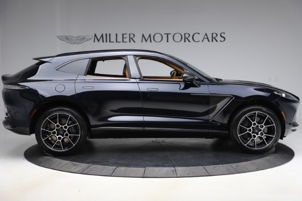 New 2021 Aston Martin DBX SUV for sale $264,386 at Rolls-Royce Motor Cars Greenwich in Greenwich CT 06830 8