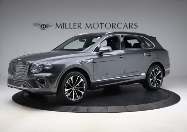 New 2021 Bentley Bentayga V8 for sale $213,720 at Rolls-Royce Motor Cars Greenwich in Greenwich CT 06830 2