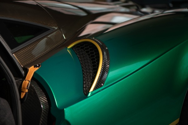 Used 2017 Pagani Huayra BC for sale Call for price at Rolls-Royce Motor Cars Greenwich in Greenwich CT 06830 13